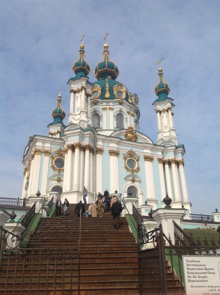Szent András templom Kijevben