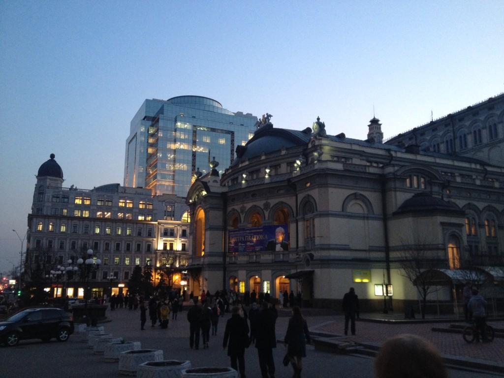 Operaház Kijevben