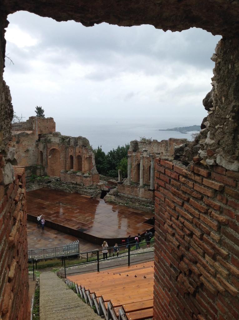 Taormina még esőben is szép