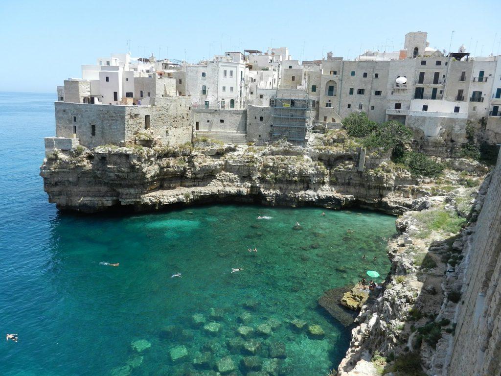 Puglia látnivalói  - Polignano a Mare
