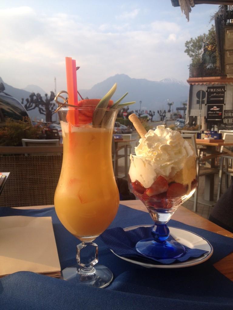 Jó étterem Bellagioban
