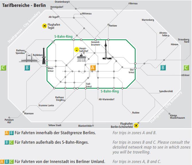 Berlin utazás tömegközlekedés