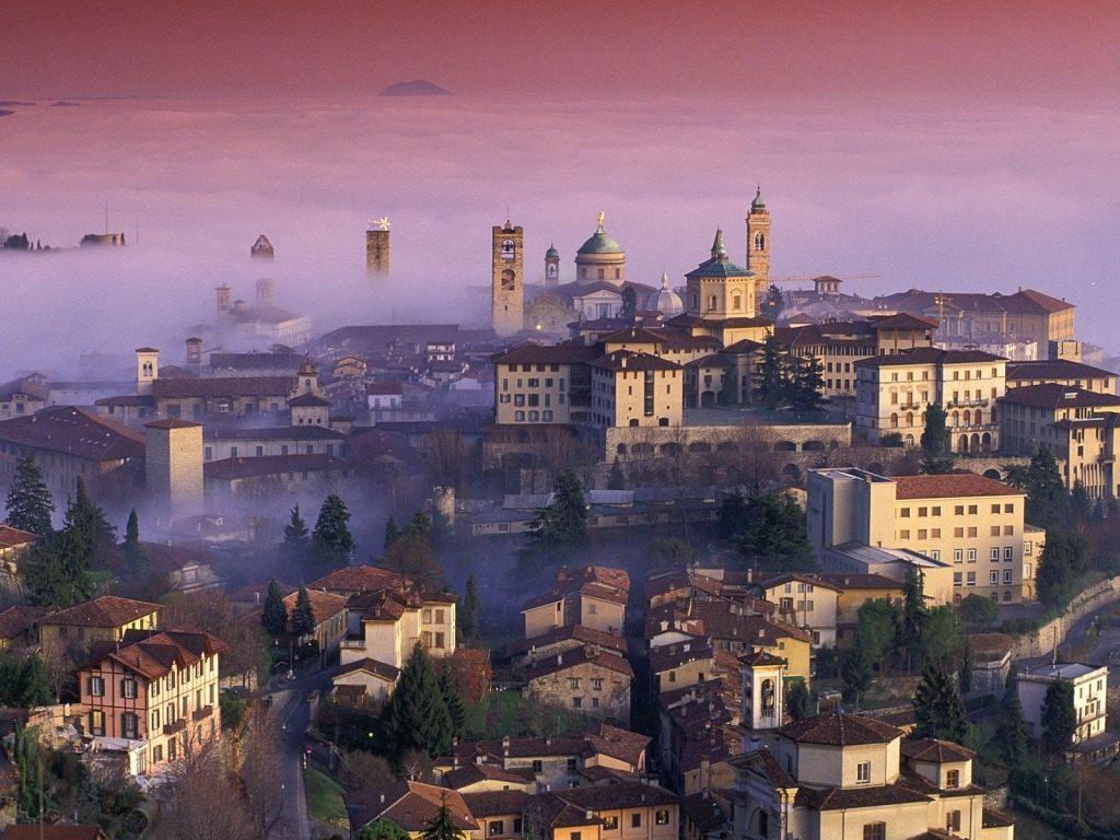Bergamo látnivalók olasz olcsó utazás