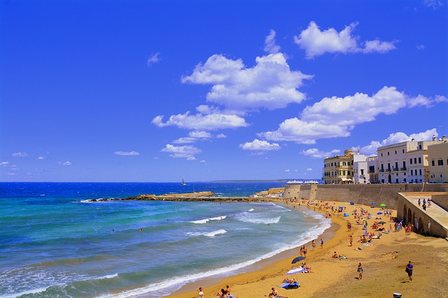 Puglia tengerpartjai Gallipoli