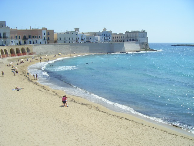 Puglia tengerpartjai purita