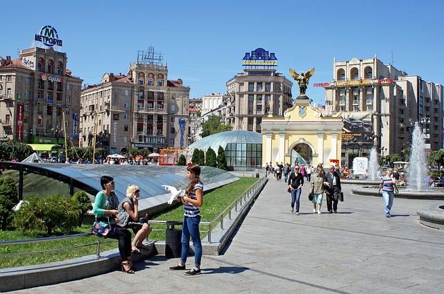 kijev látnivalói maidan tér
