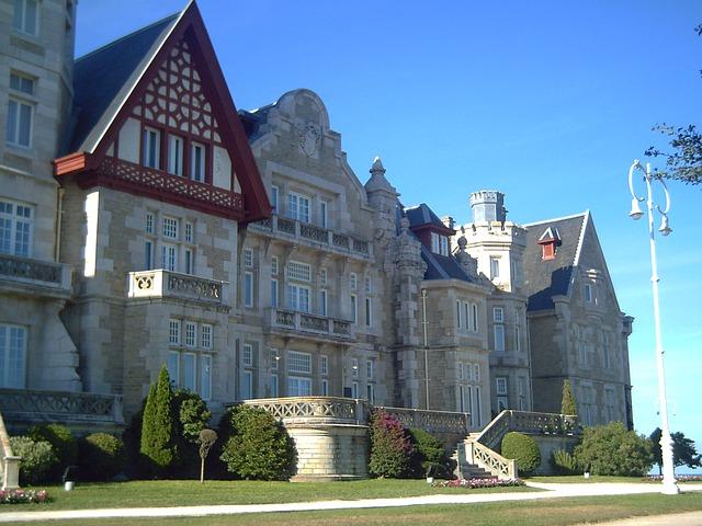 Santander látnivalói - a királyi palota Santenderben