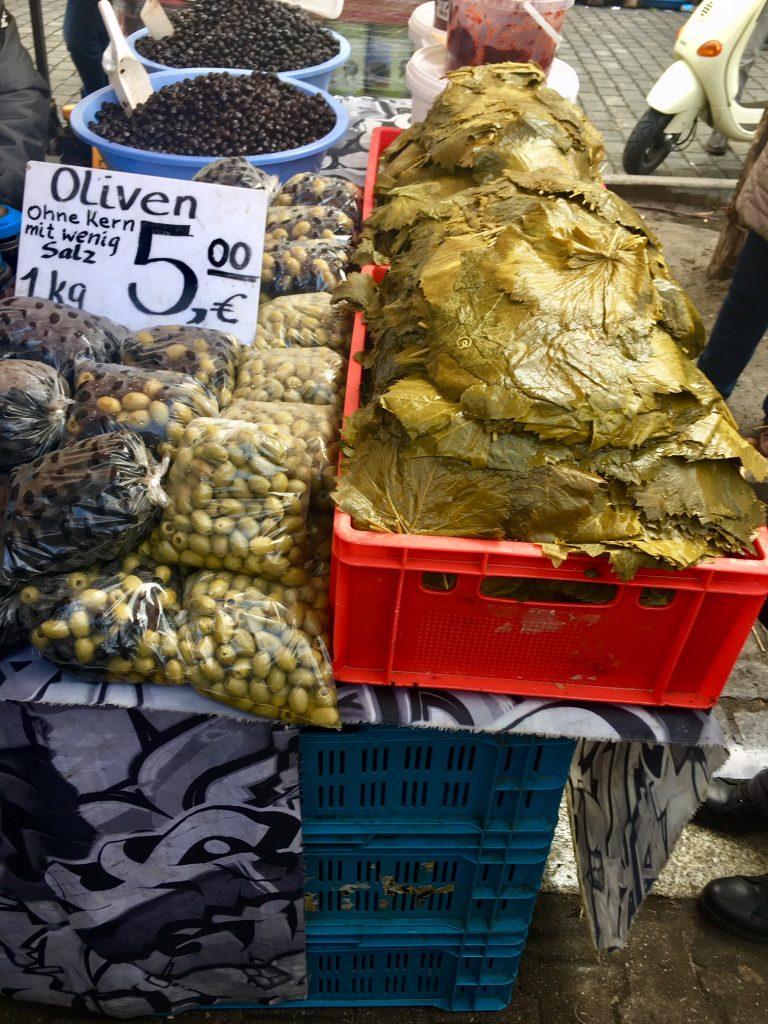 török piac Berlinben