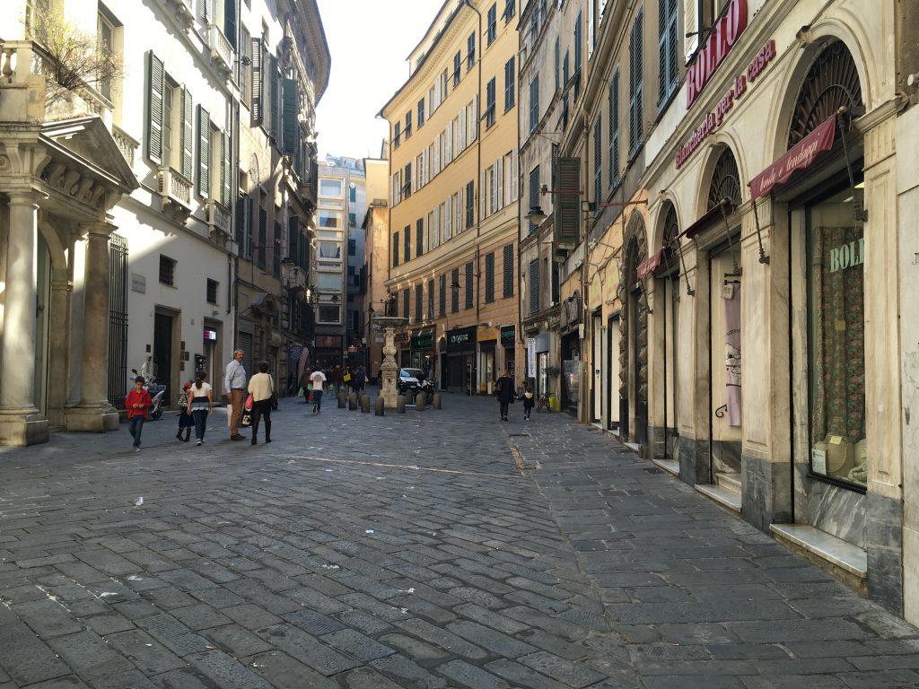 ligúr élménybeszámoló - genova utcái