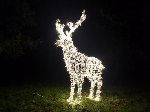 állatfigurák a Christmas Garten Berlinben