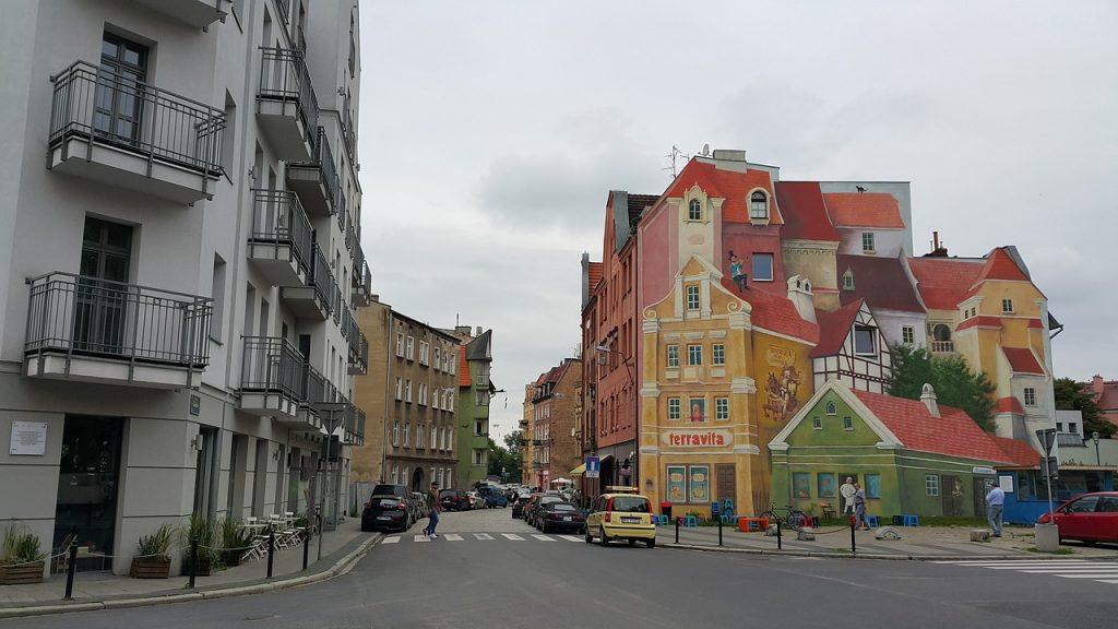 poznan látnivalói - valahol a belvárosban