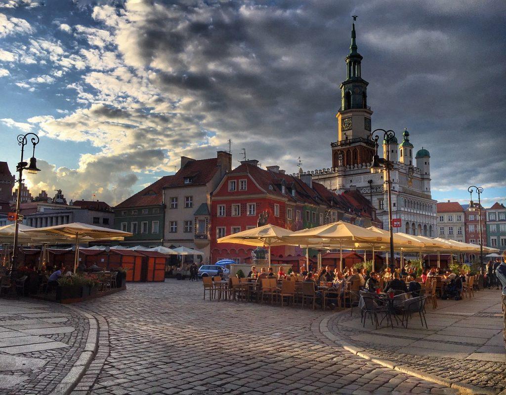 Poznan látnivalói - a főtér