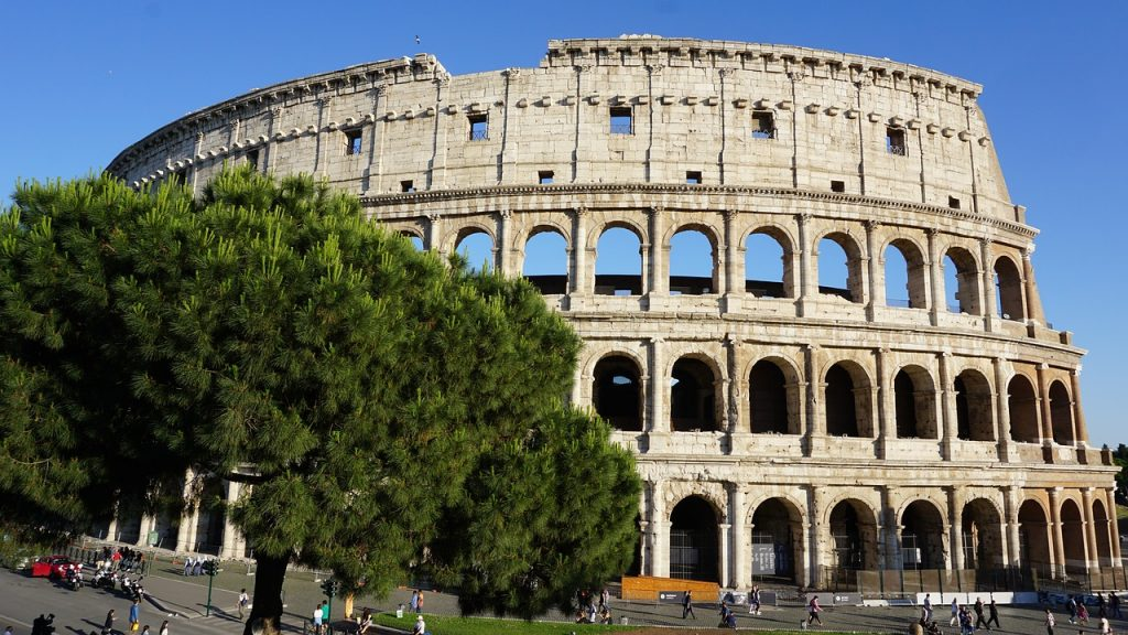 Róma látnivalói - a Colosseum