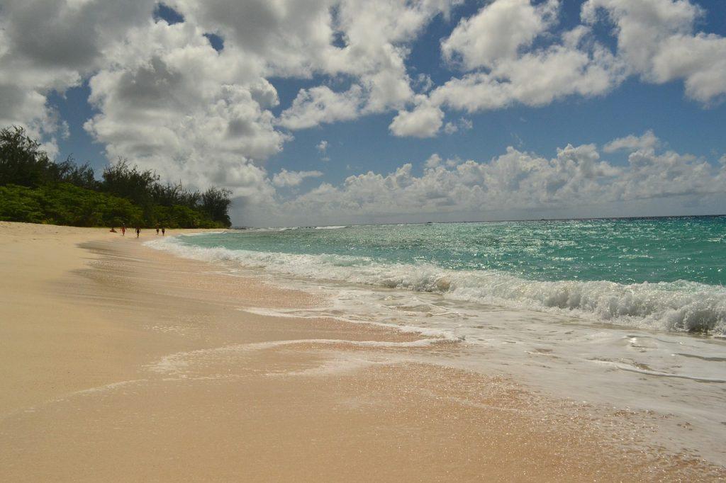 Barbados tengerpart