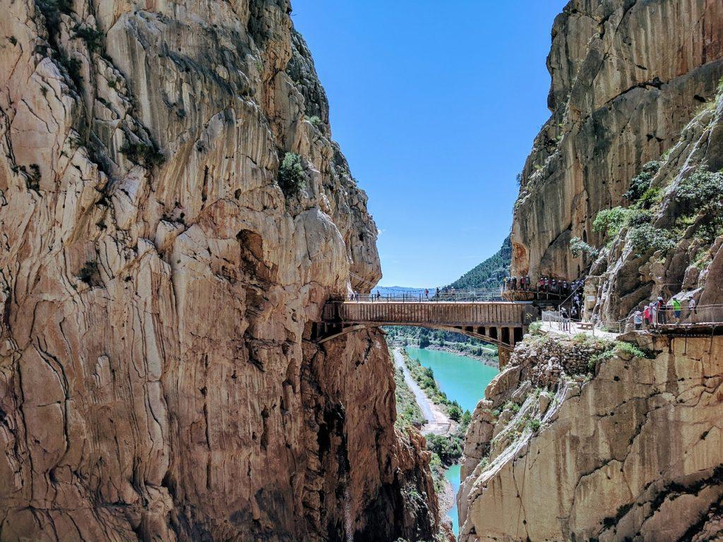 Andalúzia látnivalói közül kihagyhatatlan a Caminito del Rey.