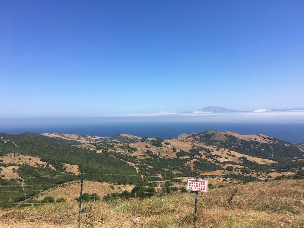 Andalúzia élménybeszámoló - Gibraltári szoros kilátó