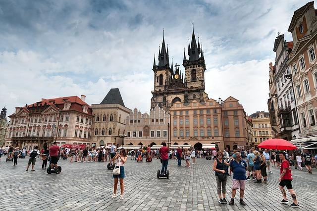 Prága látnivalói - Óváros tér