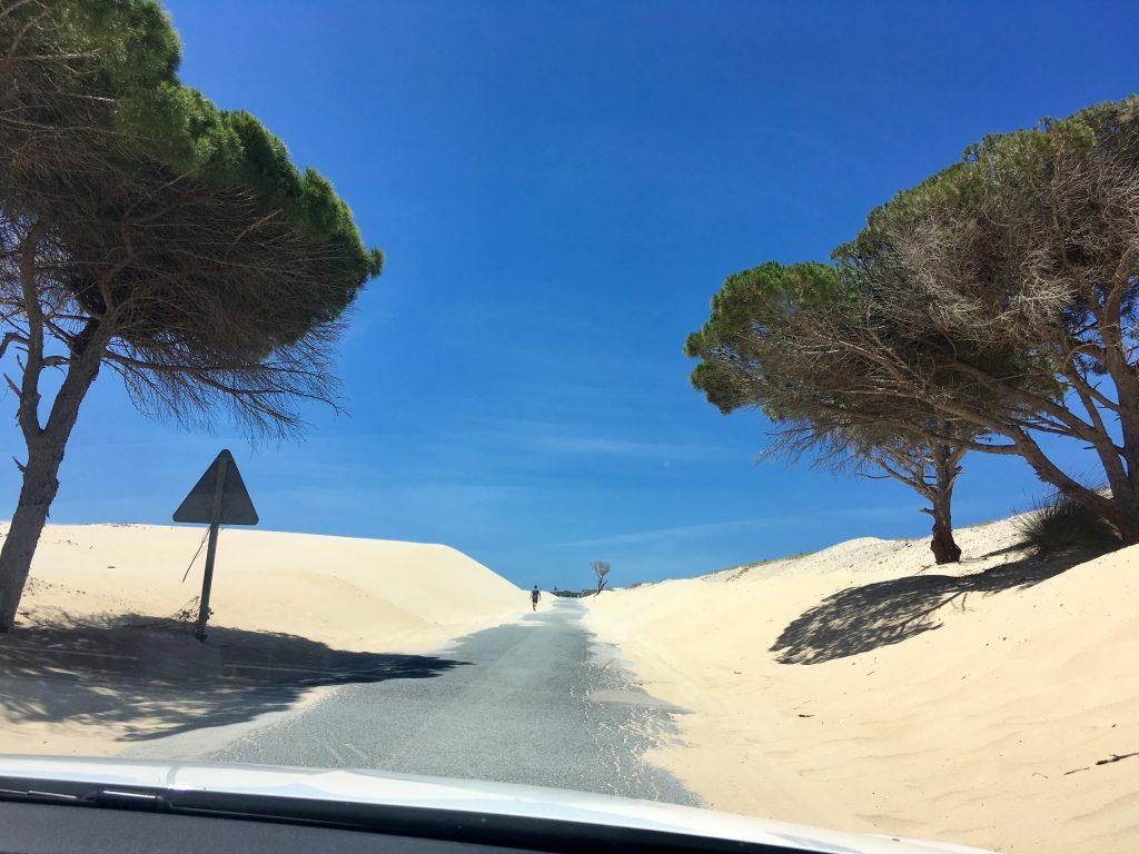 Andalúzia élménybeszámoló - Punta paloma, homokdűnék