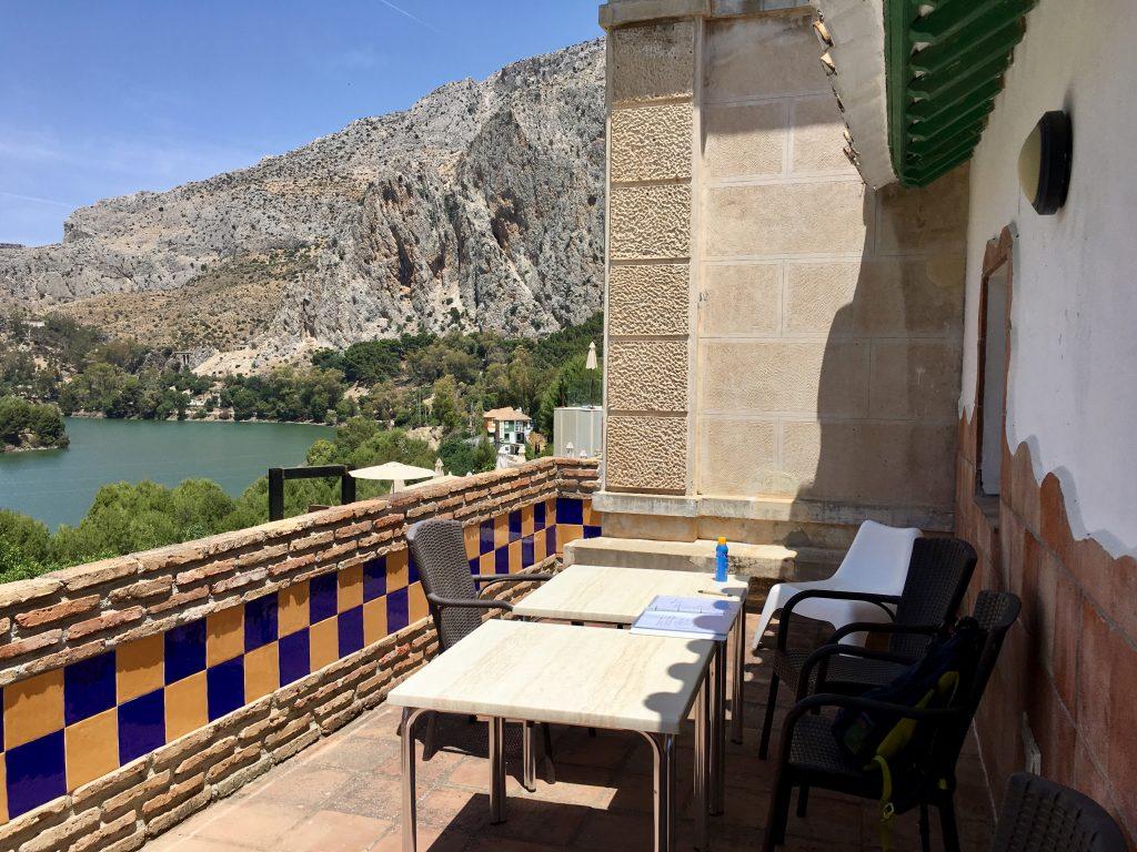 Andalúzia élménybeszámoló - El Chorro szuper szállás