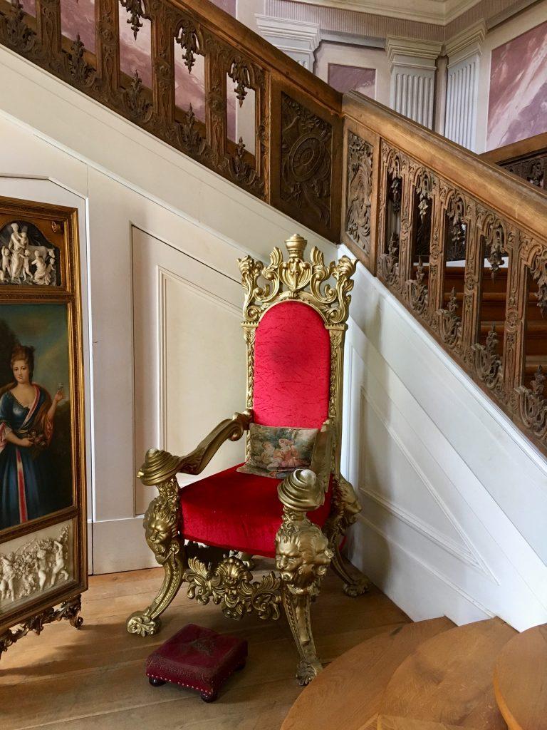 friedrichsfelde palota barokk lépcsőháza