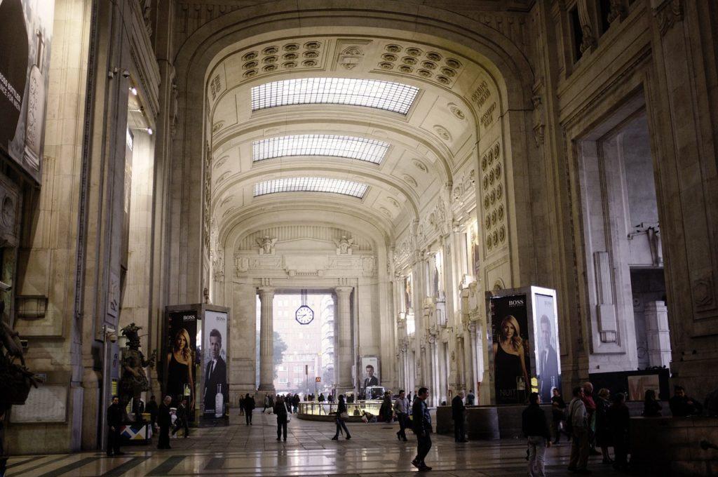 Milano Centrale állomás főépülete