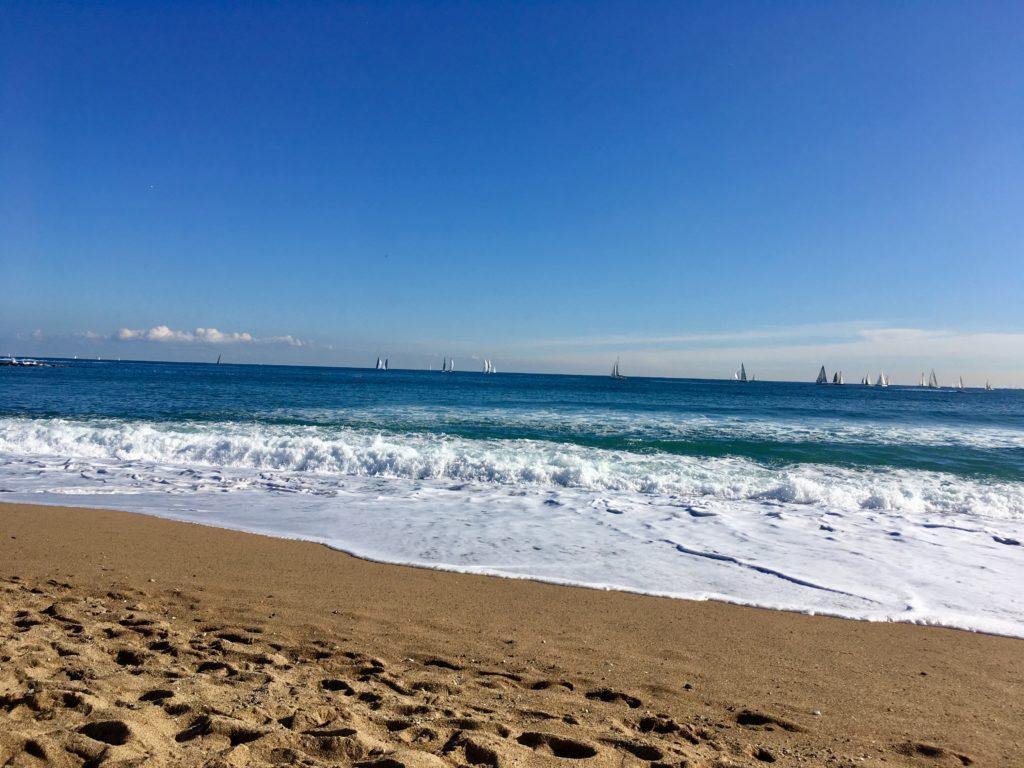 tengerpart télen - barcelonai tengerpartok