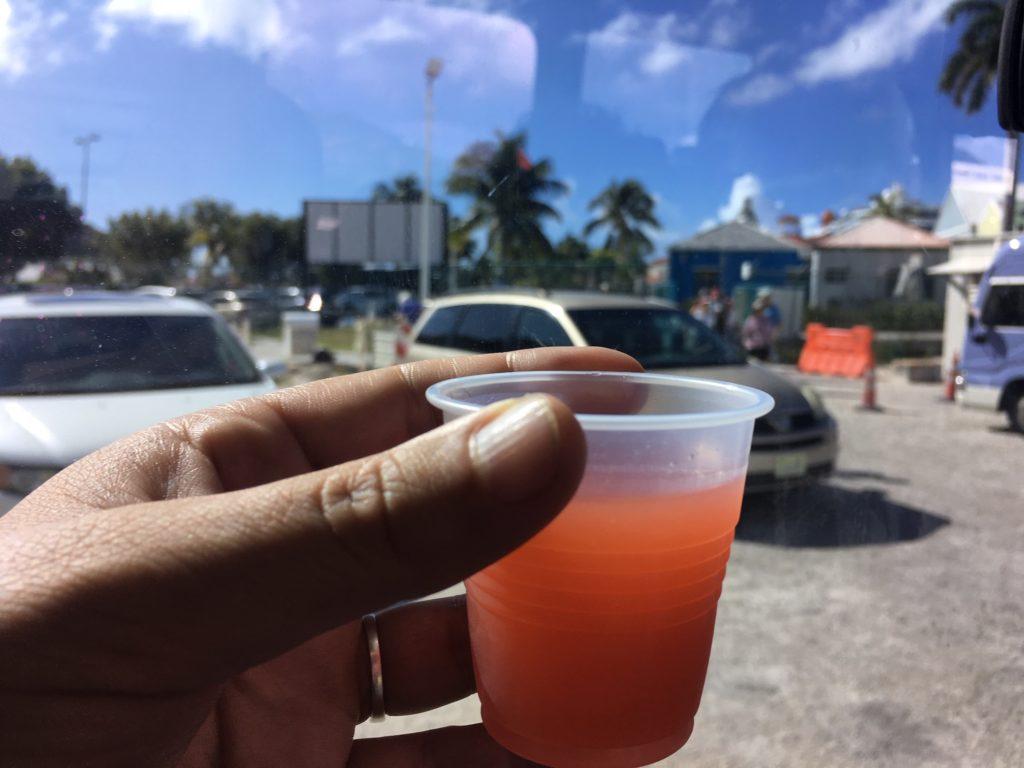 Sint Maarten - guavaberry rum