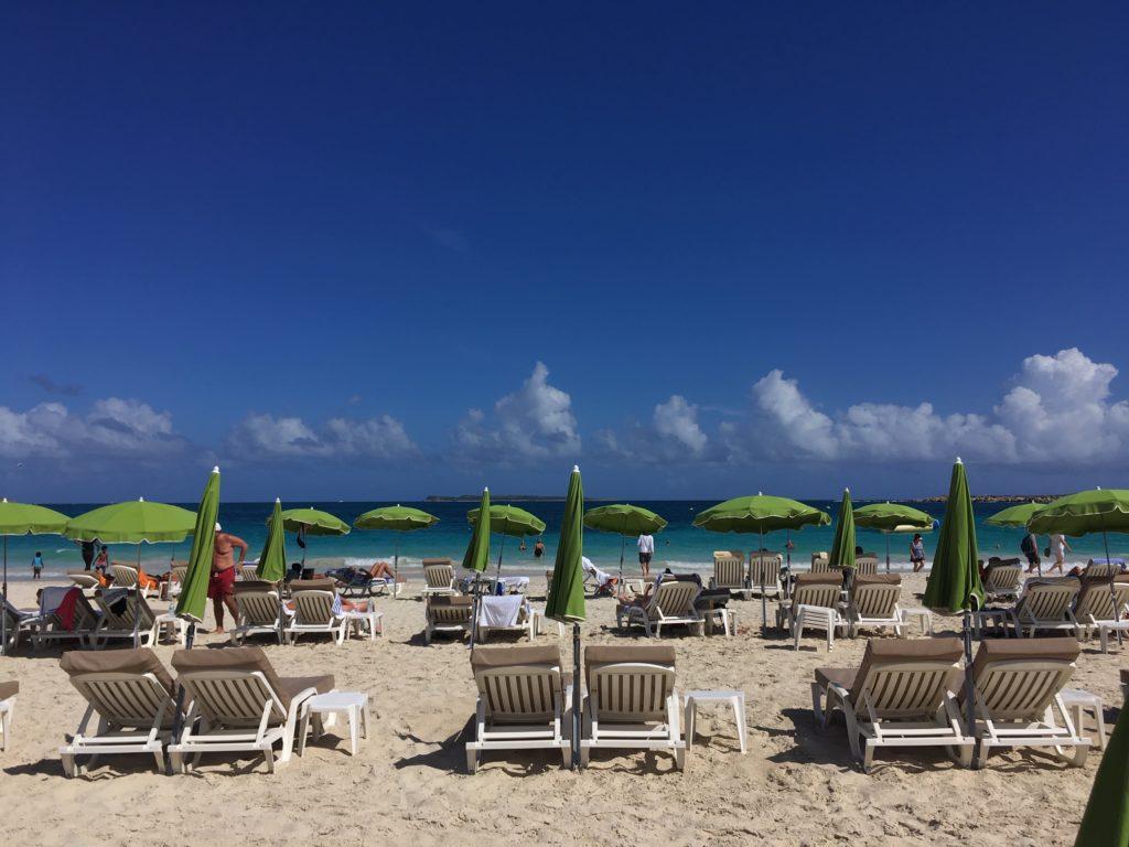 Sint Maarten tengerpart
