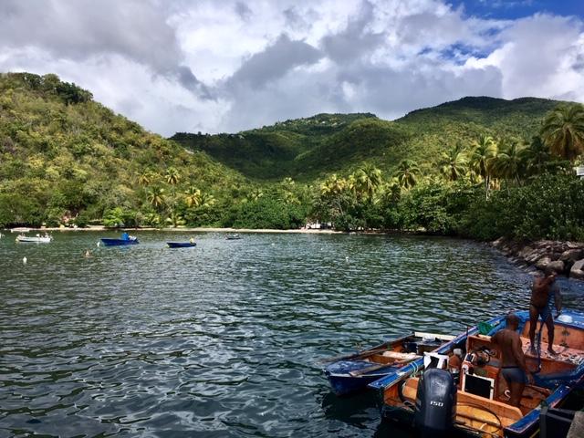 Egy kis öblöcske valahol a szigeten - Guadeloupe élménybeszámoló