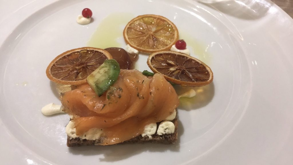 Ételek a Costa Smeralda hajón
