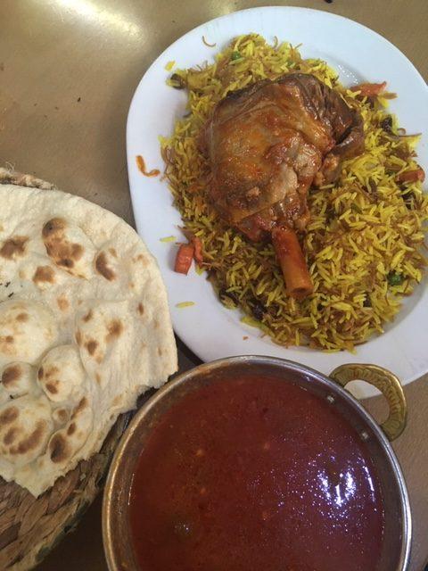 Ahhh ... de jó volt a kurd étteremben!