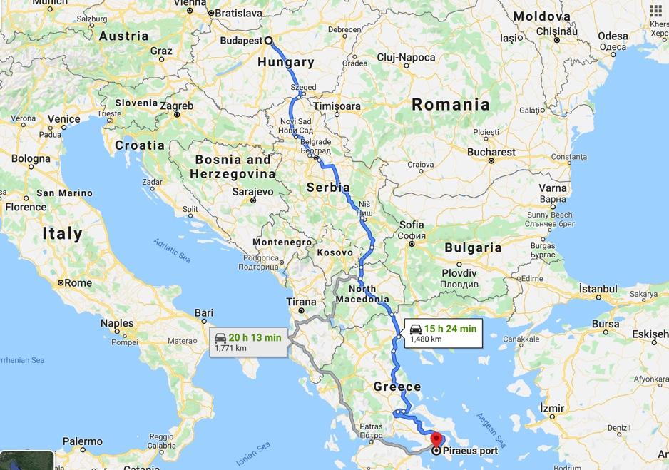 Hogyan lehet eljutni Szantorinire Budapestről?