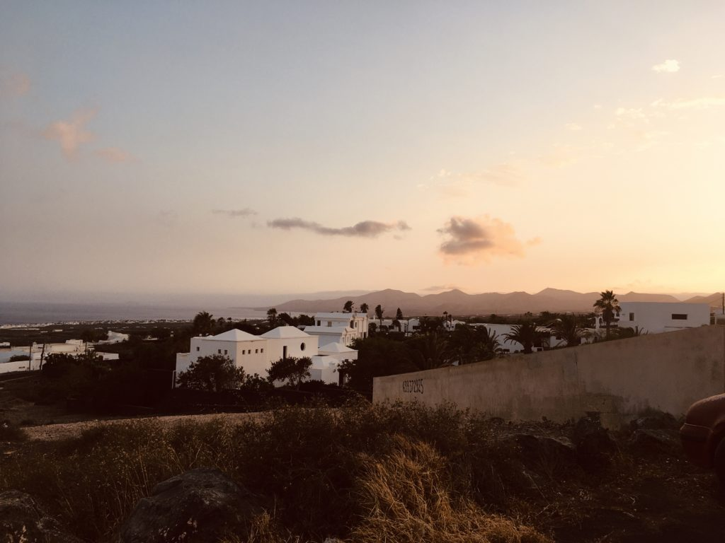 Kanári kalandok 6 - naplemente Tíasból