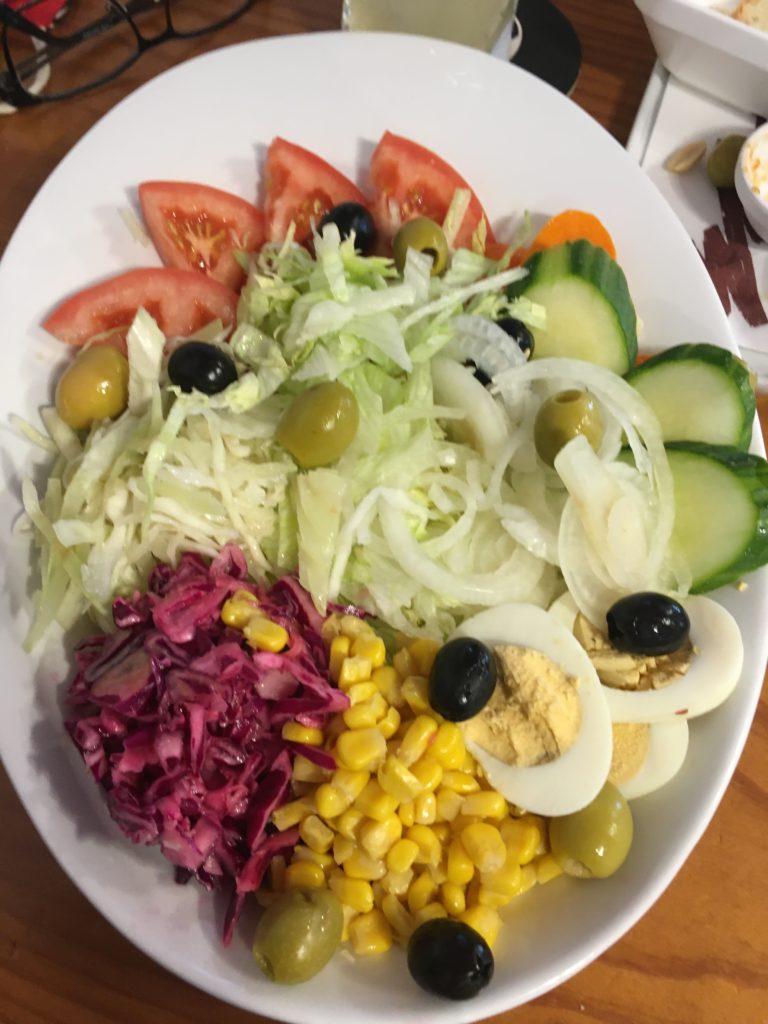 Saláta a Millo y Milloban a Kanári kalandok 6. napján