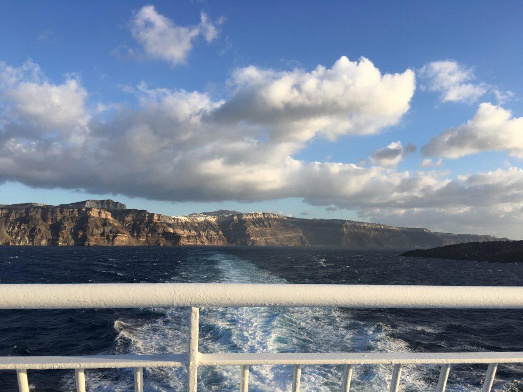 Kiűzetésem a Paradicsomból: utolsó naplemente Santorinin
