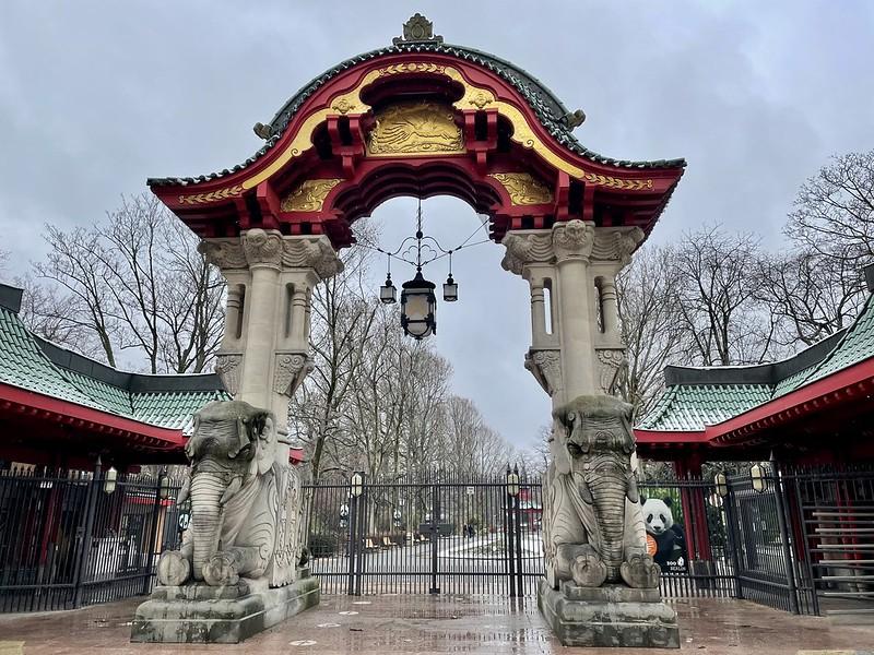 berlini állatkert bejárata