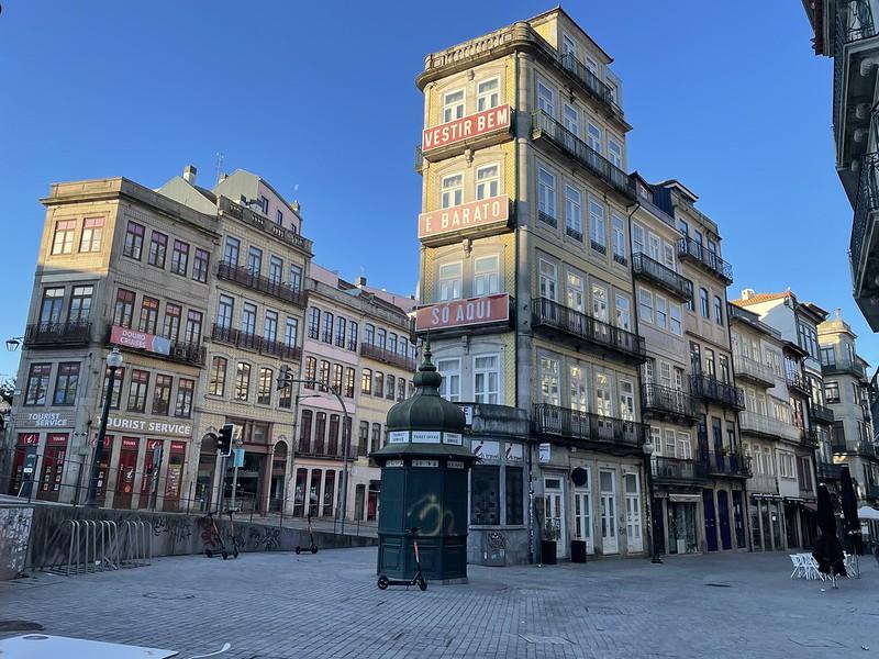 Porto élménybeszámoló - reggel a város