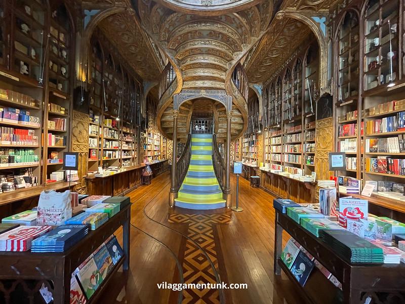 Lello könyvesbolt Portóban
